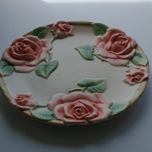 Canape Plate Blushing Rose
